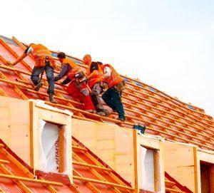 Men Fixing Roof