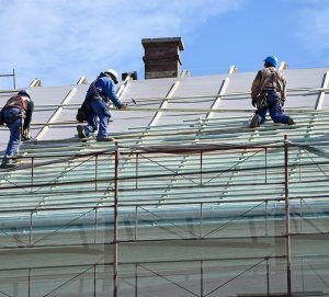 Men at Roof