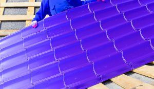 Thermo Plastic Roof Blue